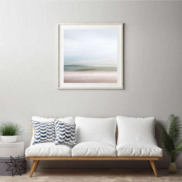 'When The Ocean Dances' Abstract Ocean Photography Print