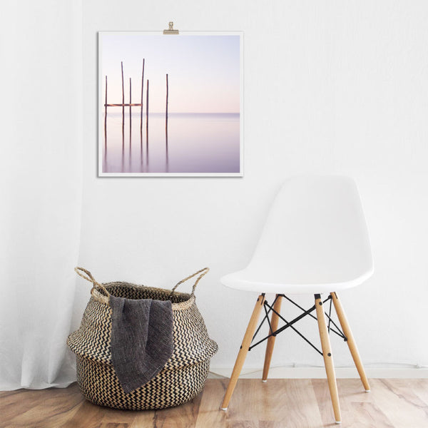 'A Delicate Dawn' Soothing Art Print