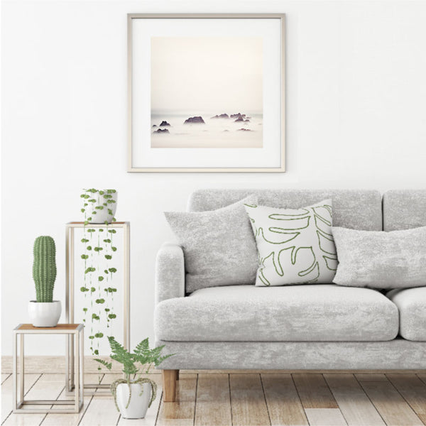 'The Ocean Rose' Soothing Wall Art Print