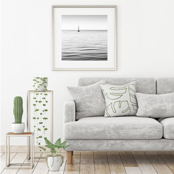 'Sea Of Tranquility' Soothing Coastal Art