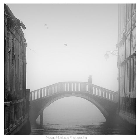 'The Crossing' Venice Art Print