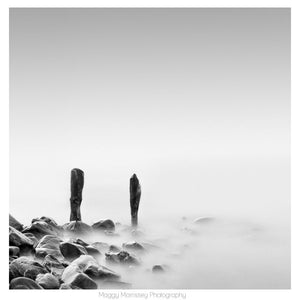 'Pebble Beach' Minimalist Beach Photography