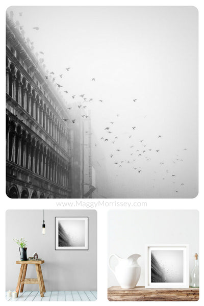 'Birdsong' Atmospheric Art Print