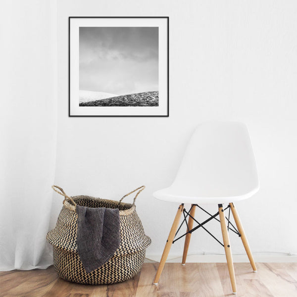 'Rannoch Moor' Minimalist Scottish Art Print