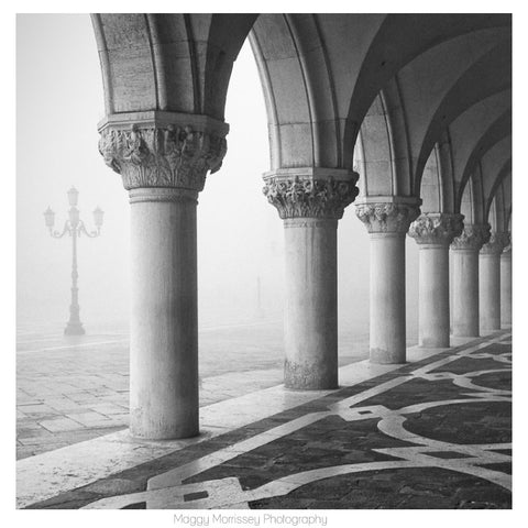 'Palazzo Ducale' Foggy Venice Art Print