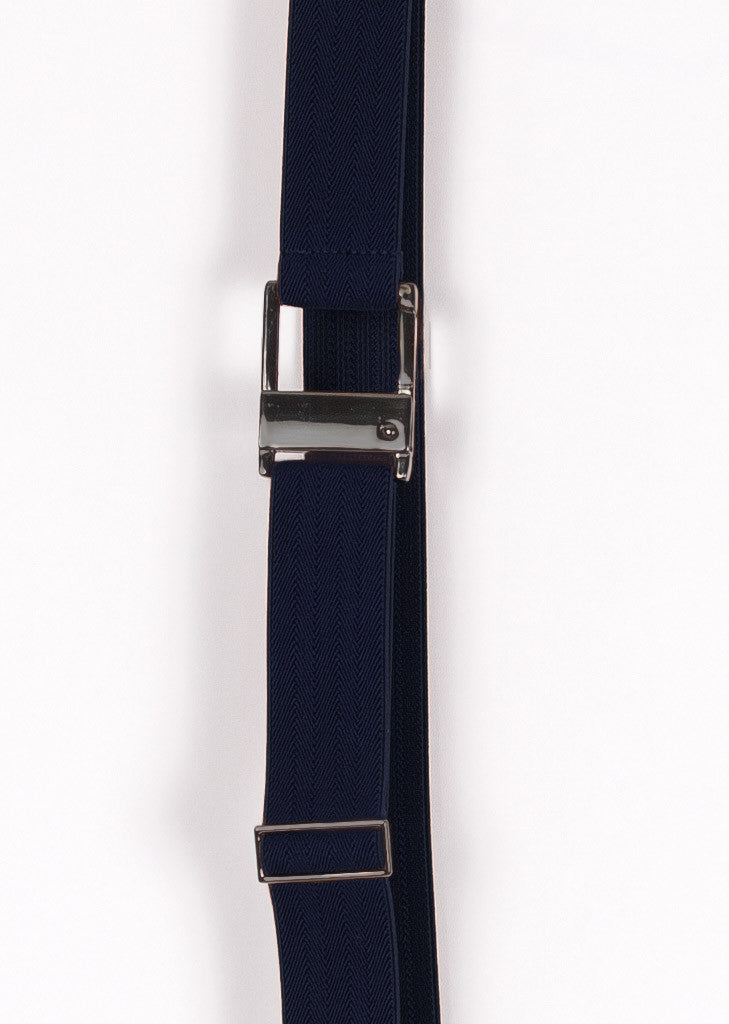Navy elastic belt