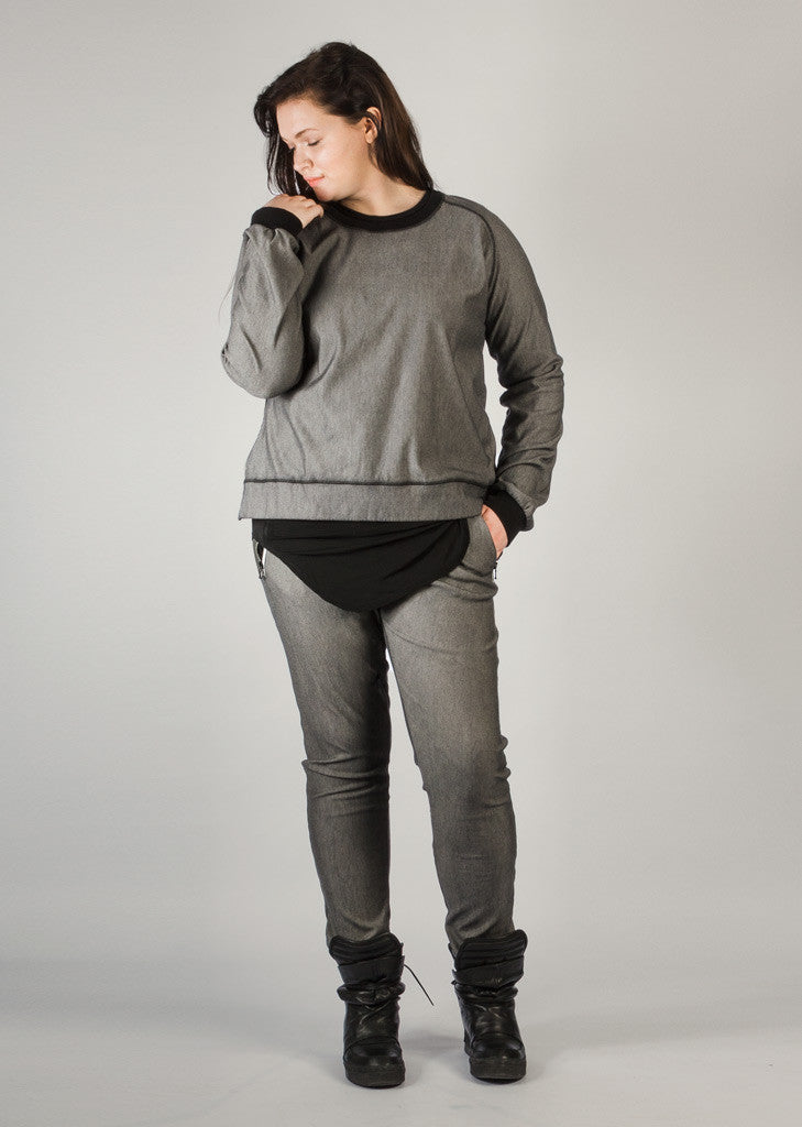 Grey Lyocell bamboo sweatpants