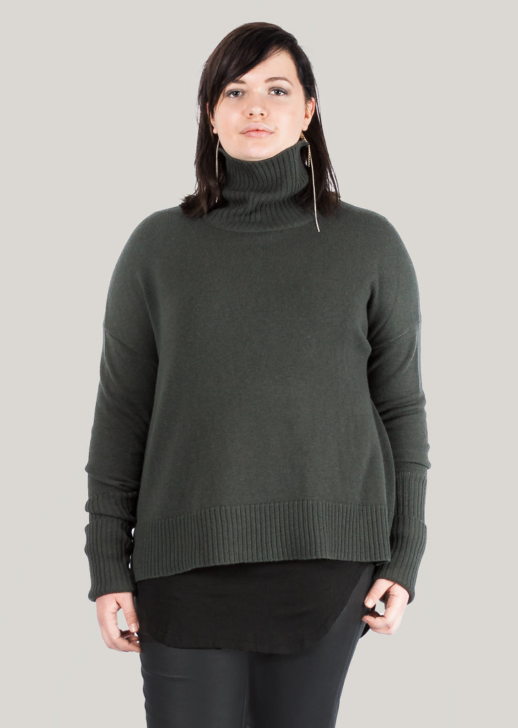 GOTS certified organic extrafine merino brown grey sweater