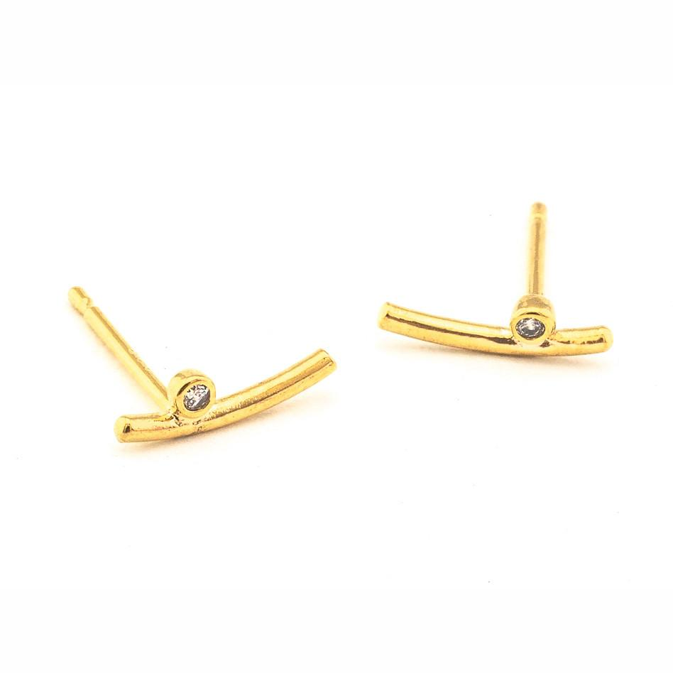 Tai Curved Bar Studs $30