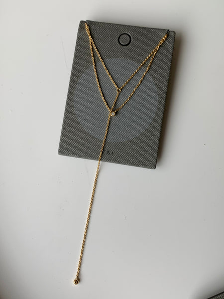 Tai Double Chain with CZ $48