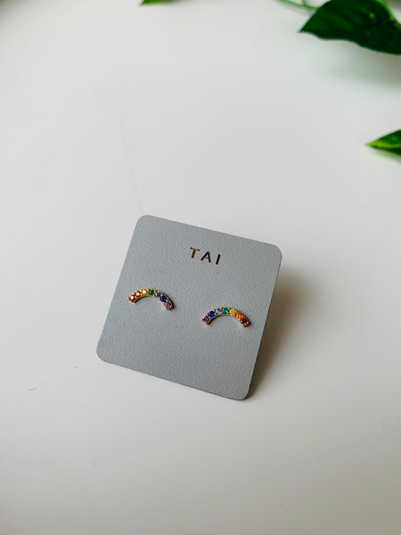 Tai Rainbow Earrings $40