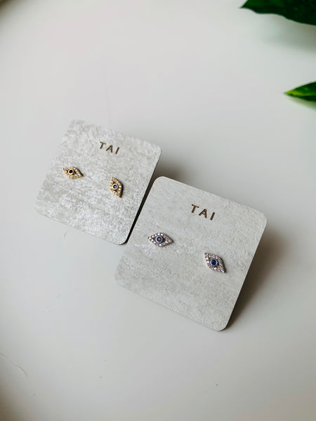 Tai Evil Eye Earrings $60