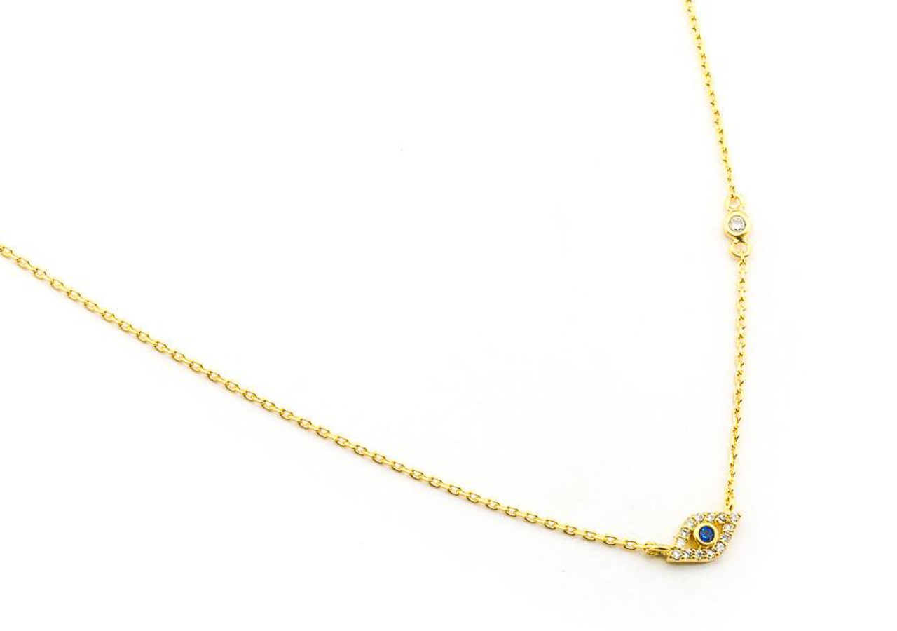 Tai Evil Eye Pendant Necklace $55