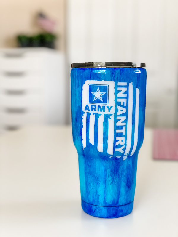 Army Infantry Tumbler