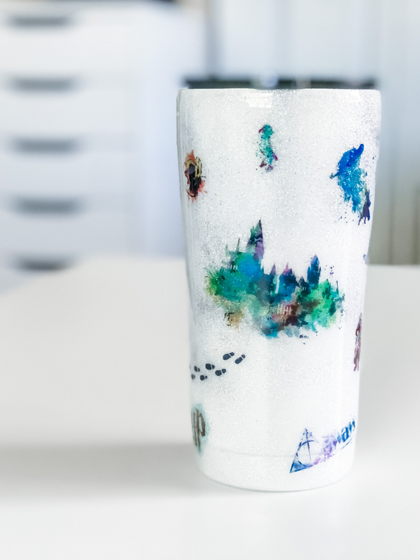 NEW Harry Potter Watercolor Tumbler