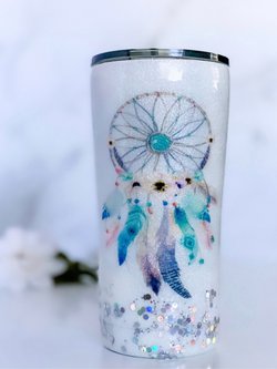 NEW Glitter Dreamcatcher Tumbler