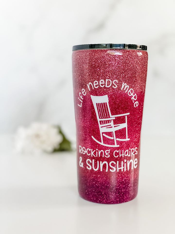 Rocking Chairs and Sunshine Tumbler