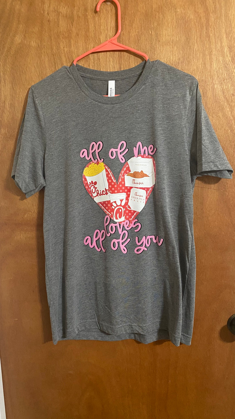 All of Me Loves All of You CFA T-Shirt