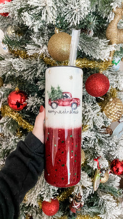 Mickey Merry Christmas Tumbler