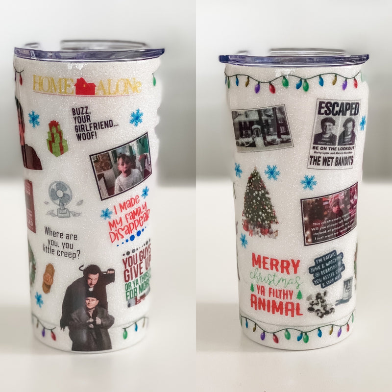 Home Alone Christmas Tumbler