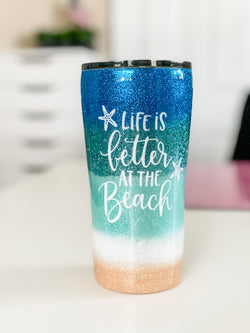 NEW Life is Better At The Beach Tumbler