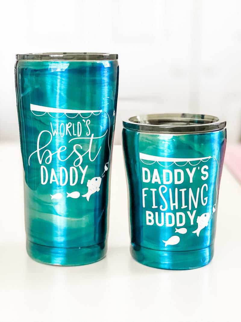 NEW World's Best Daddy & Me Fishing Set