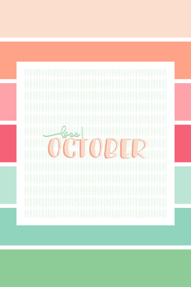 Decorate Your Desktop | October