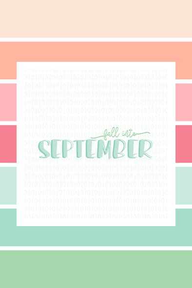 Decorate Your Desktop | September