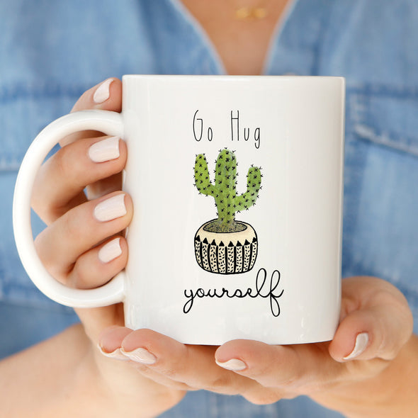 Cactus Hug Mug by Paper Berry Press