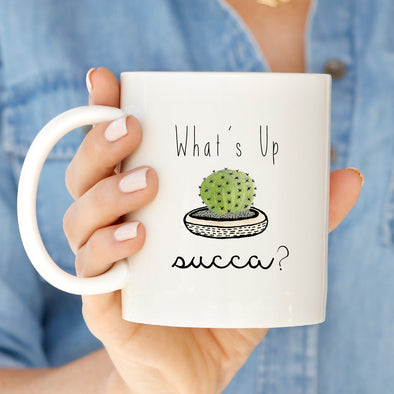 Cactus Succa Mug by Paper Berry Press