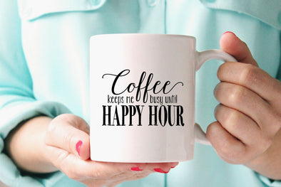 Happy Hour Mug by Paper Berry Press