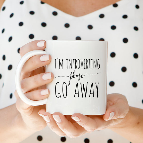 Introvert Mug by Paper Berry Press