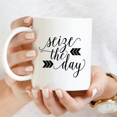 Seize Day Mug by Paper Berry Press