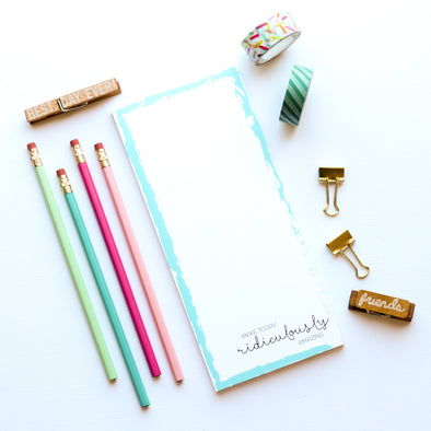 Ridiculously Amazing Notepad by Paper Berry Press
