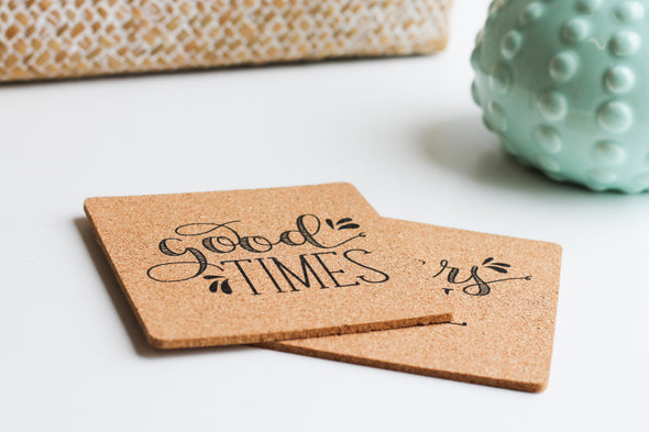 Good Times Coasters by Paper Berry Press