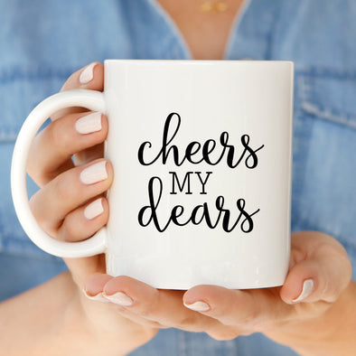 Cheers Dears Mug by Paper Berry Press