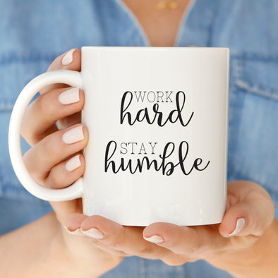 Hard + Humble Mug by Paper Berry Press