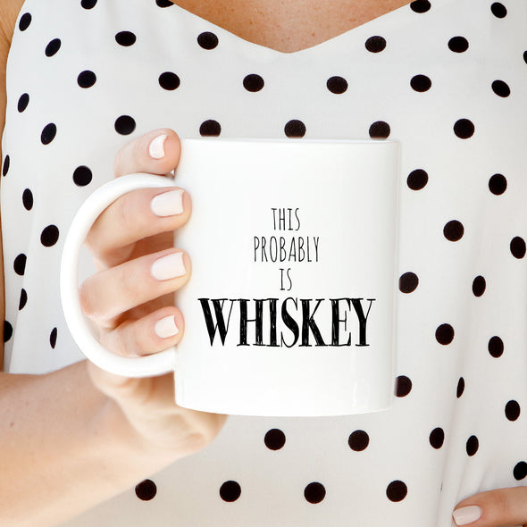 Whiskey Mug by Paper Berry Press