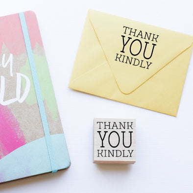 Thank You Kindly Stamp by Paper Berry Press