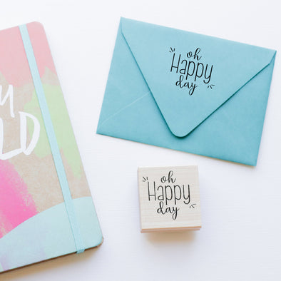 Oh Happy Day Stamp by Paper Berry Press