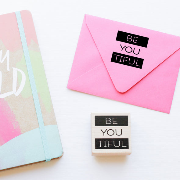 Be You Tiful Stamp by Paper Berry Press