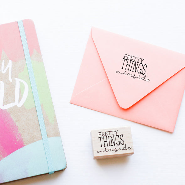 Pretty Things Stamp by Paper Berry Press