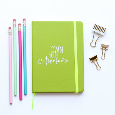 Own Awesome Journal by Paper Berry Press