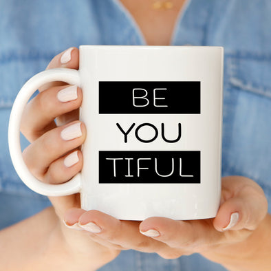 Be You Tiful Mug by Paper Berry Press