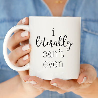 Can't Even Mug by Paper Berry Press