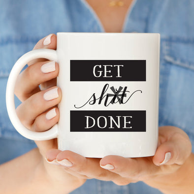 Shit Done Mug by Paper Berry Press