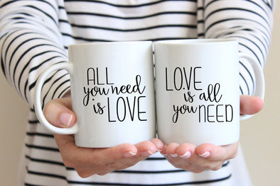 All Love/Love All Mug by Paper Berry Press