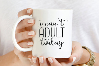 Can't Adult Mug by Paper Berry Press