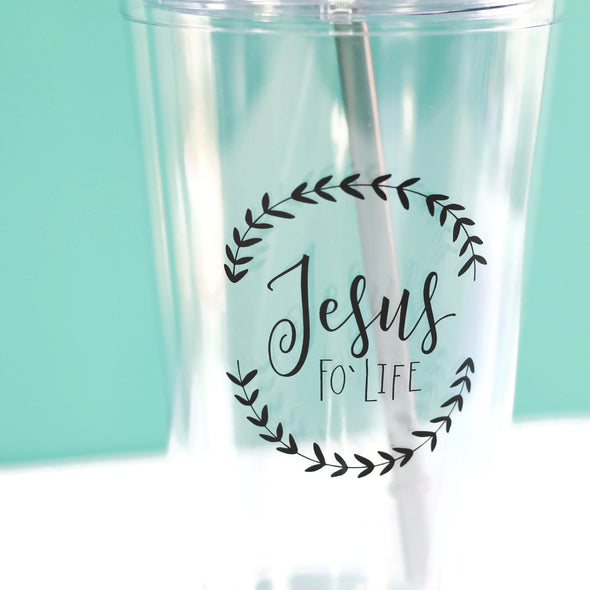 Jesus Life Tumbler by Paper Berry Press