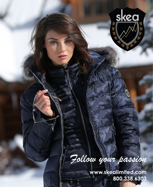 SKEA ad in Fall Issue of Snow Magazine